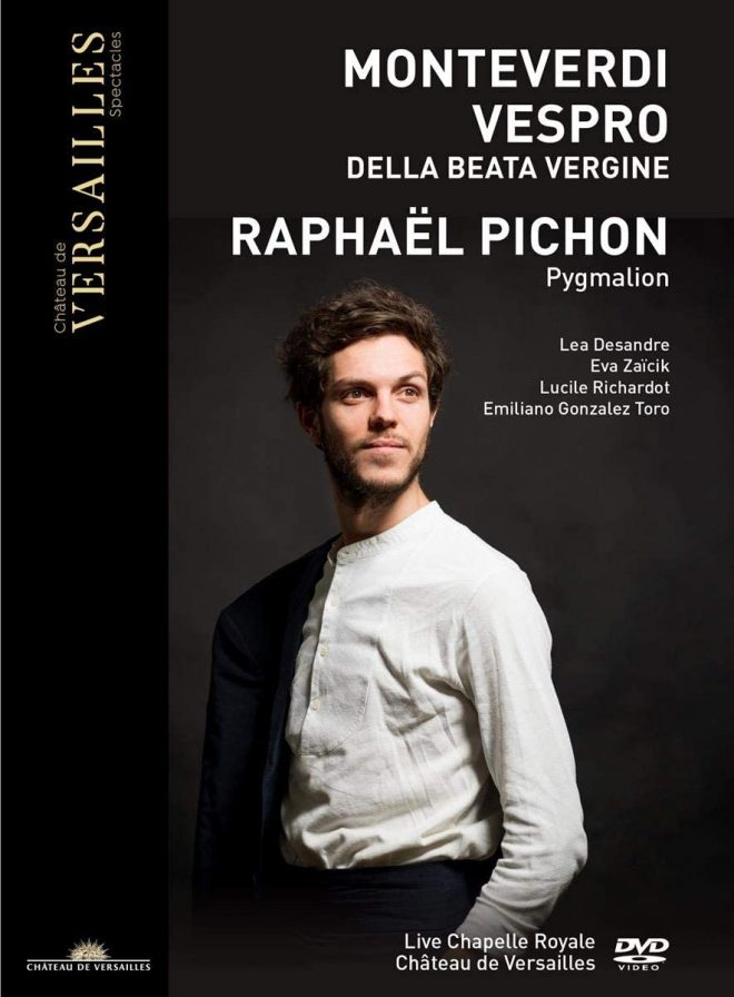 Cover of a DVD of Monteverdi Vespers by Pichon