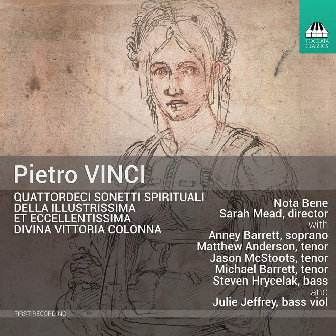 Pietro Vinci CD cover