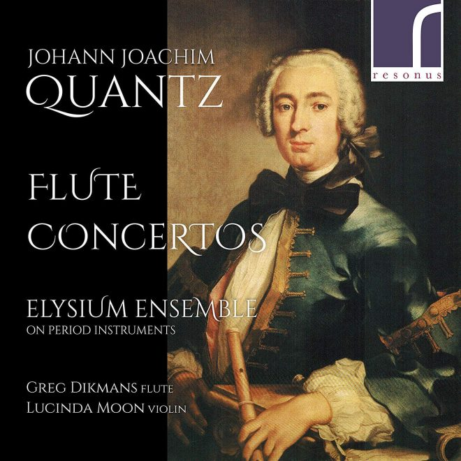 Cover for resonus Quantz CD