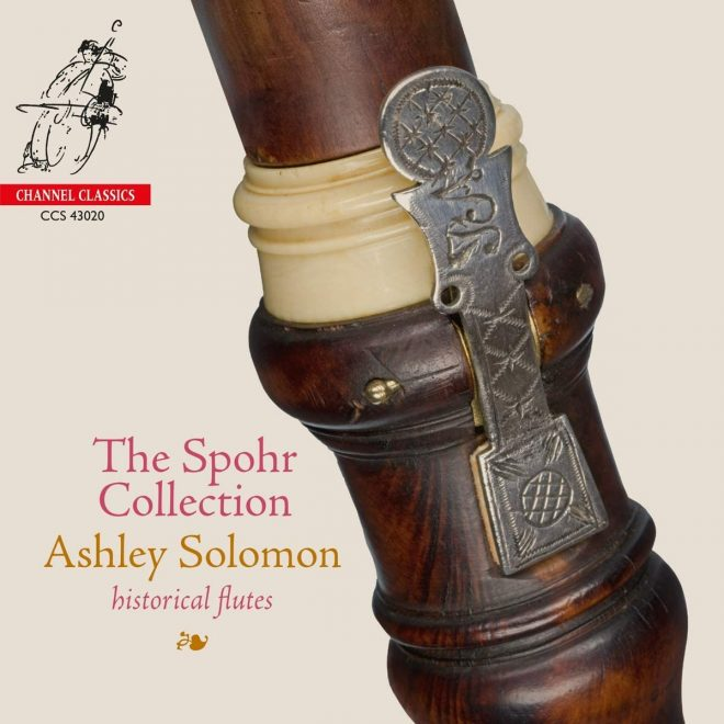 Cover of Ashley Solomon Spohr Collection CD
