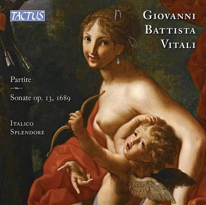 Cover of Vitali Partite CD