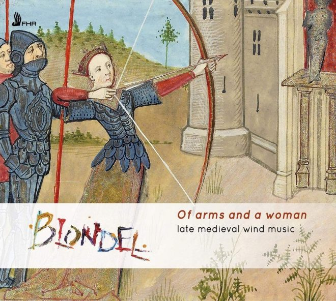 Cover of the CD Blondel Of arms and a woman