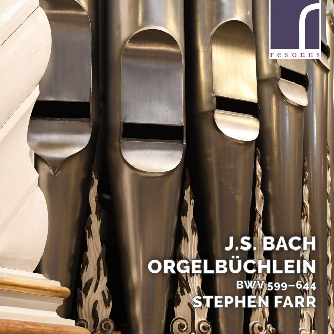 Stephen Farr Bach Orgelbüchlein CD cover