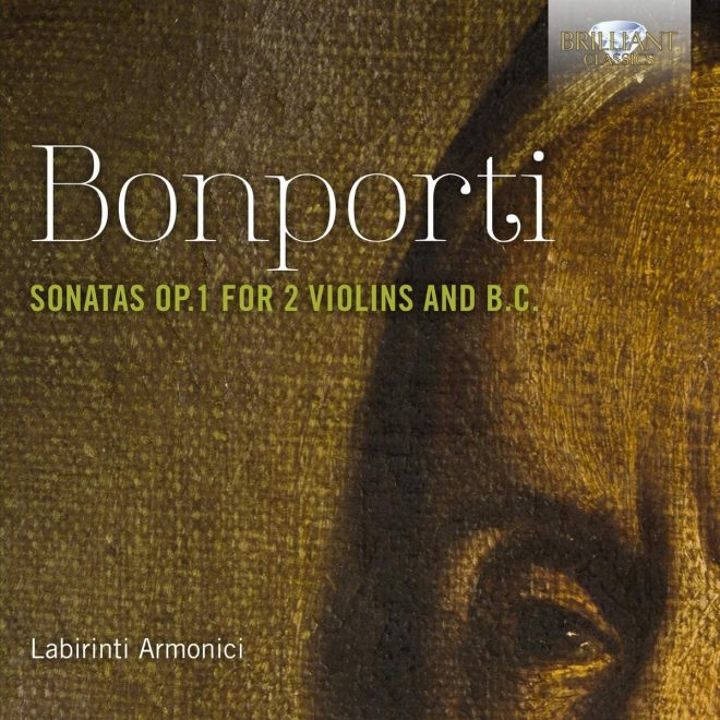 Bonporti op 1 trio sonatas CD cover