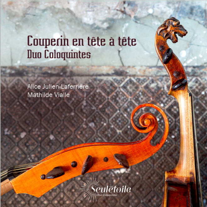 Cover of Louis Couperin tete a tete CD