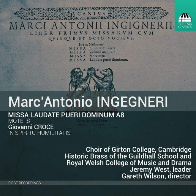 Ingegneri's Missa Laudate pueri Dominum CD cover