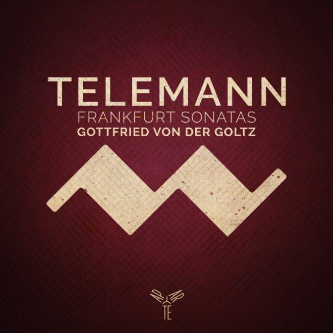 Telemann Frankfurt Sonatas Aparté CD cover