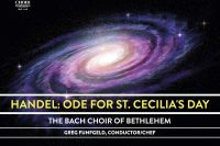 Cover of Handel Ode to St Cecilia CD