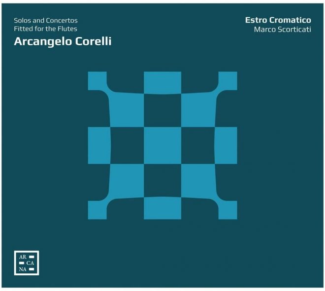 Cover of Estro Cromatico's Corelli CD