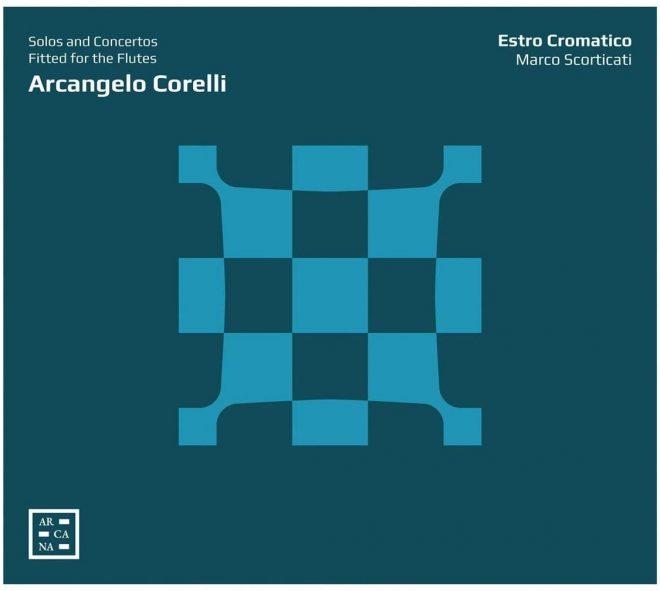 Cover of Estro Cromatico's Corelli CD