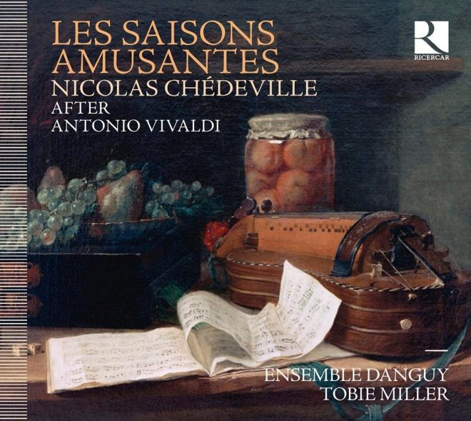 Cover of Les saisons amusants Chédeville after Vivaldi