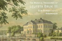 The musical treasures of Leufsta Bruk volume 3 CD cover