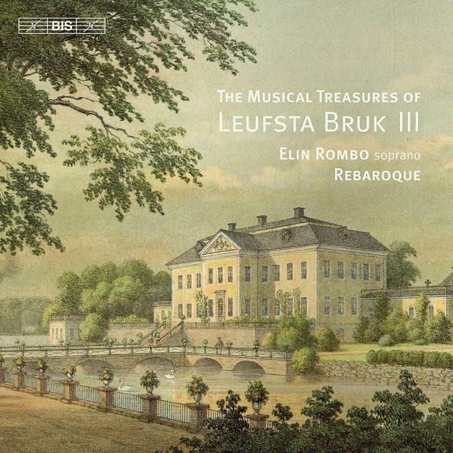 The musical treasures of Leufsta Bruk volume 3 CD cover
