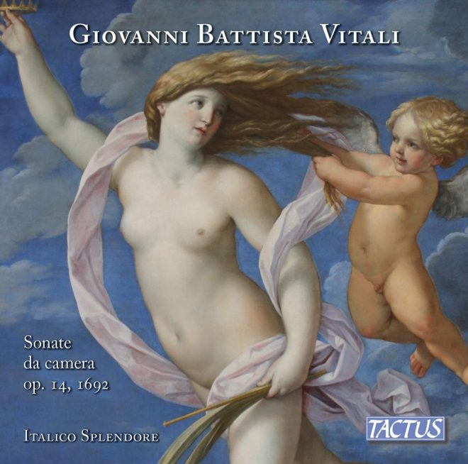 CD cover of Vitali op. 14 trio sonatas