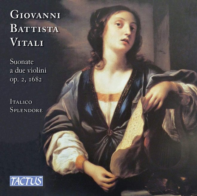 CD cover of Vitali's op. 2 trio sonatas