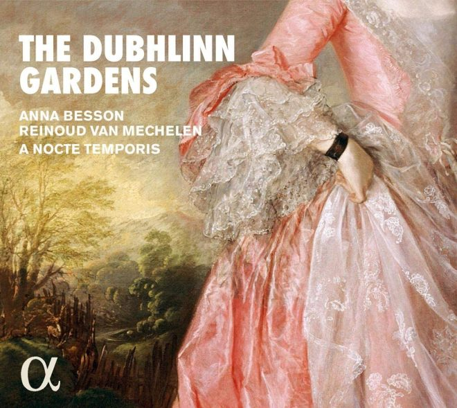 Cover of a CD devoted to the Dublin pleasure gardens