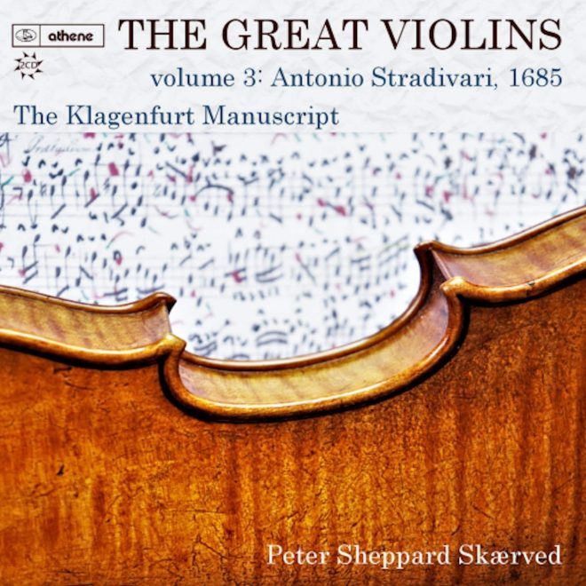 Cover of The Great Violins vol. 3