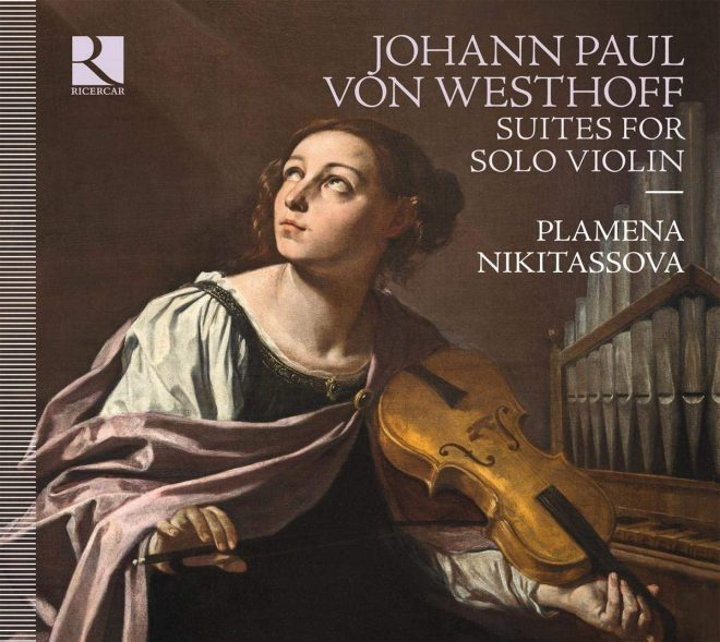 CD cover of von Westhoff's suites for solo violin