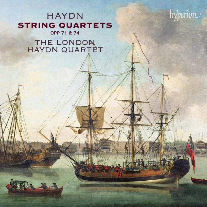 London Haydn Quartet play opp 71 and 74 complete