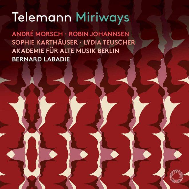 Telemann Miriways Akademie für Alte Musik Berlin Labadie CD cover