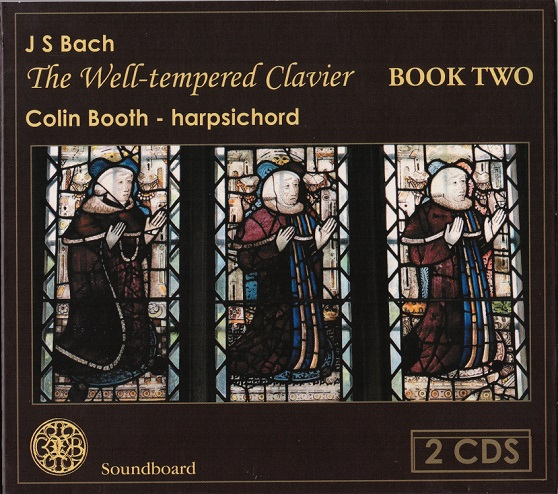 Bach Well Tempered Clavier book two played by Colin Booth