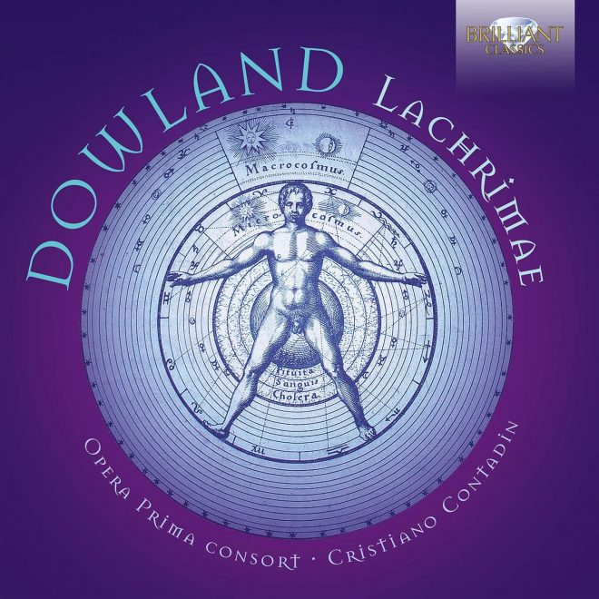 Opera Prima Consort play Dowland Lachrimae CD cover