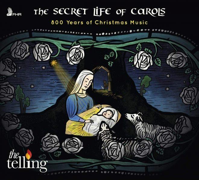 The Tellin Secret Life of Carols CD cover