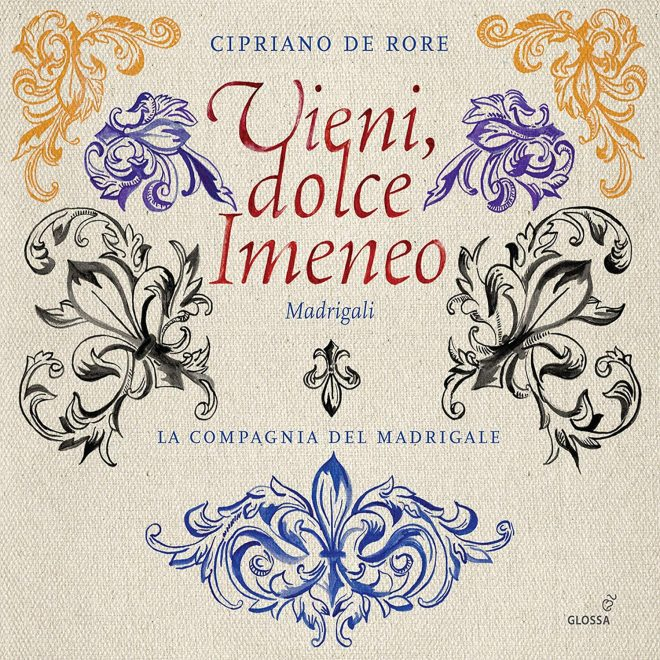 Vieni Imeneo Madrigals by Cipriano da Rore CD cover