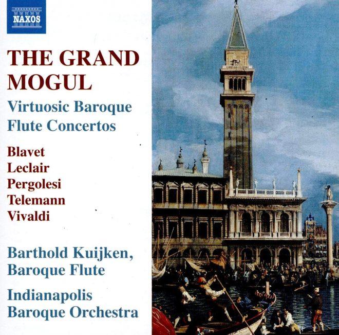 The Grand Mogul Vivaldi Barthold Kuijken CD cover