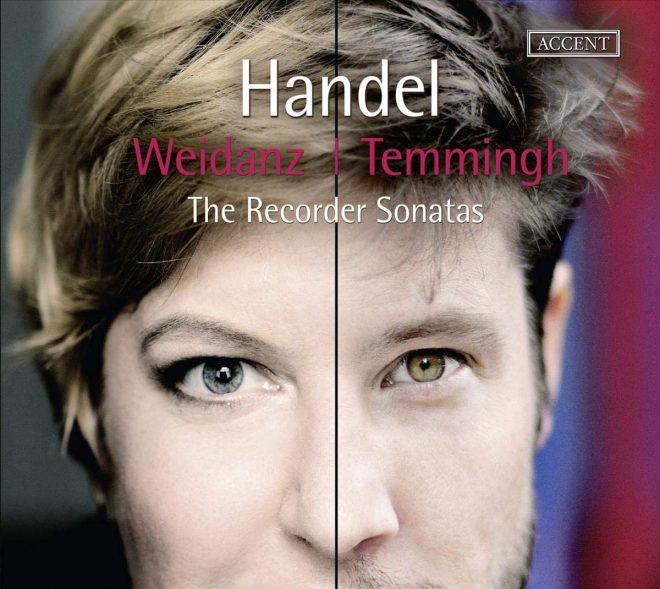 Handel Recorder Sonatas Stefan Temmingh CD cover