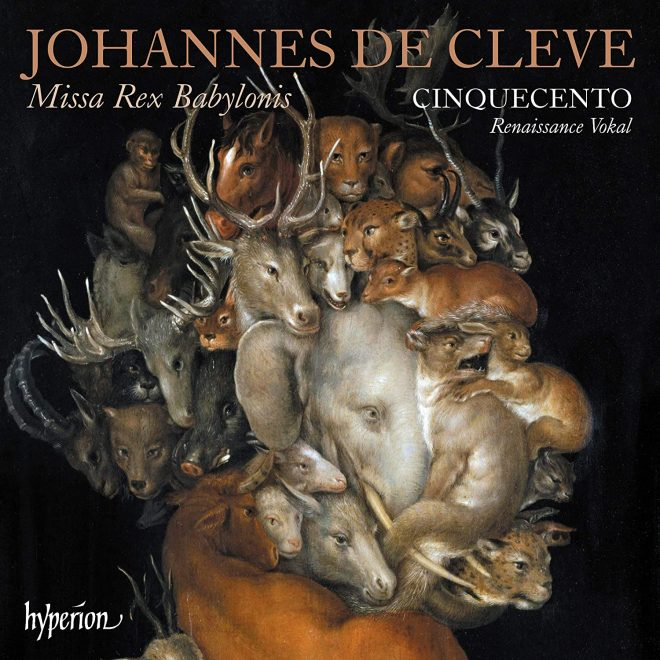 Cover of Cinquecento CD of de Cleve and Vaet