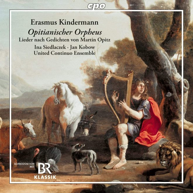 Chamber and vocal music by Erasmus Kindermann CD cover
