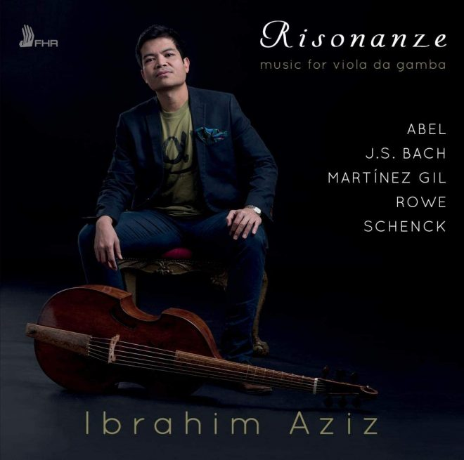 Resonanze CD of solo gamba music from the baroque and modern periods