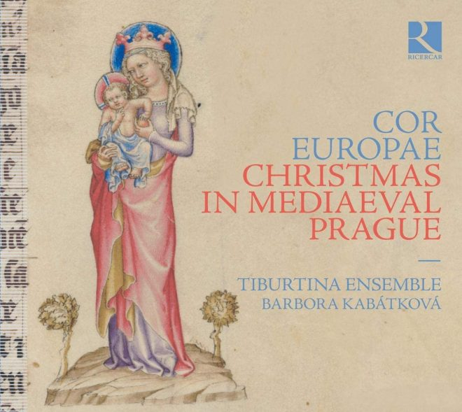 Ensemble Tiburtina Christmas in Medieval Prague CD cover