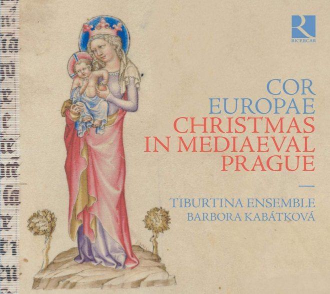 Ensemble Tiburtina Christmas in Medieval Prague CD cover