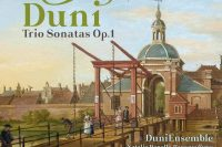 Duni op. 1 trio sonatas CD cover