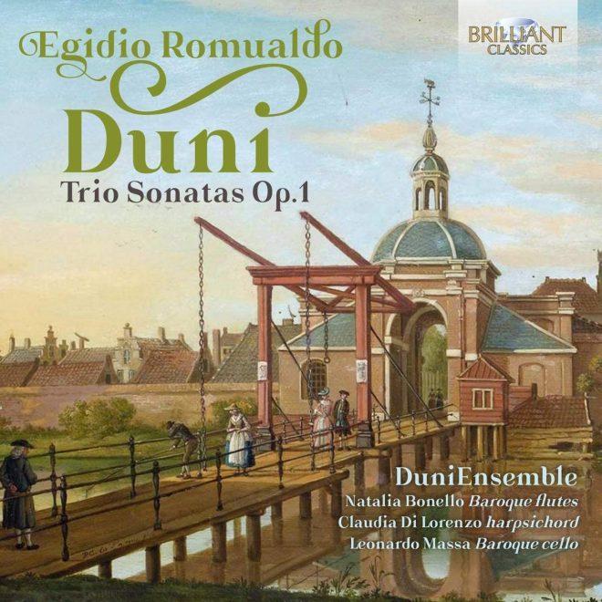 Duni op. 1 trio sonatas CD cover