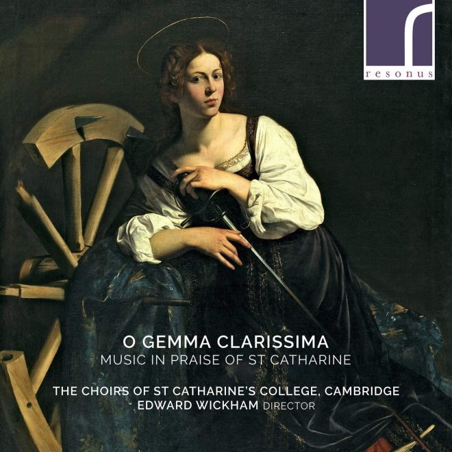 O gemma clarissima Music for St Catherine resonus CD cover