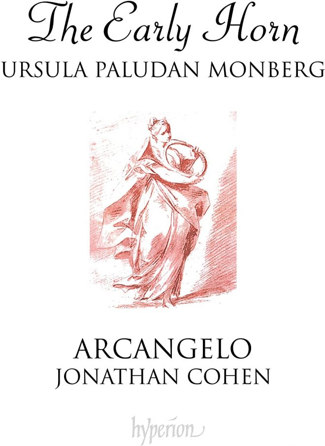 Ursula Paludin Monberg, Arcangelo, The Early Horn CD cover