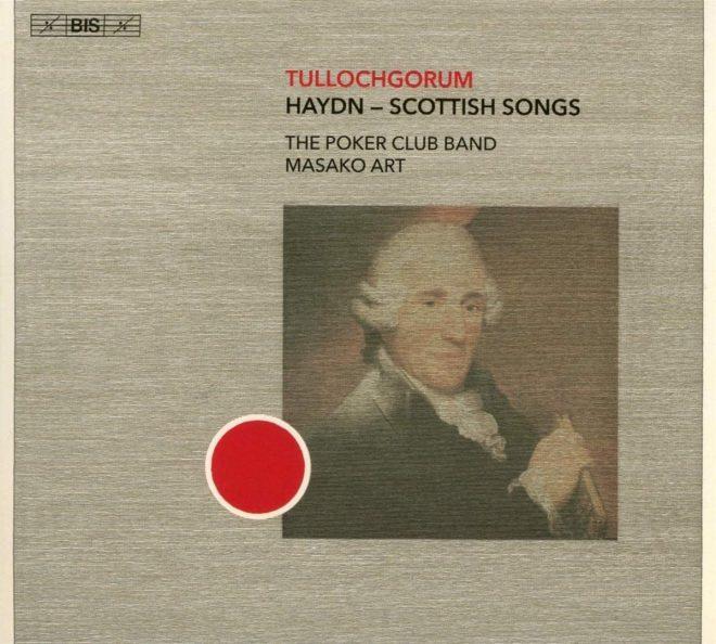 Haydn arranged for harp Tullochgorum CD cover