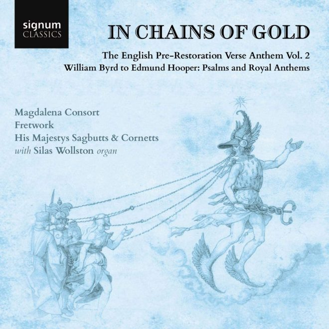 English pre-Restoration verse anthems Byrd Bull Hooper Mundy CD cover