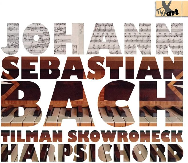 Tilman Skowroneck plays Bach CD cover