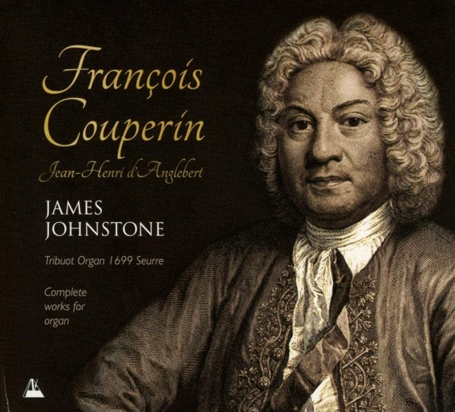 CD cover of James Johnstone Complete works for organ Francois Couperin
