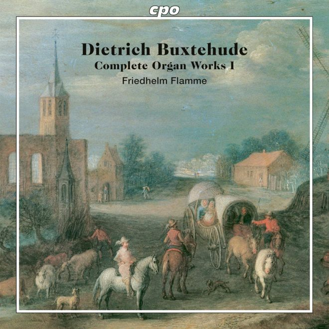 CD cover of Buxtehude Complete Organ Works I Friedhelm Flamme