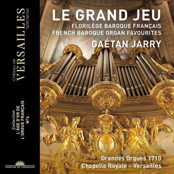 Le Grand Jeu CD cover for recital of organ arrangements
