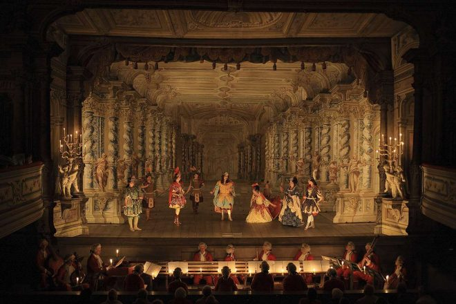 A scene from a Hasse opera