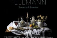Lauzer and Lussier play Telemann with Arion Orchestre Baroque on Atma classique
