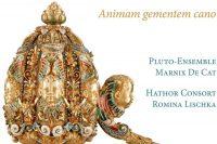 CD cover of Animam gementem cano Biber and Tuma