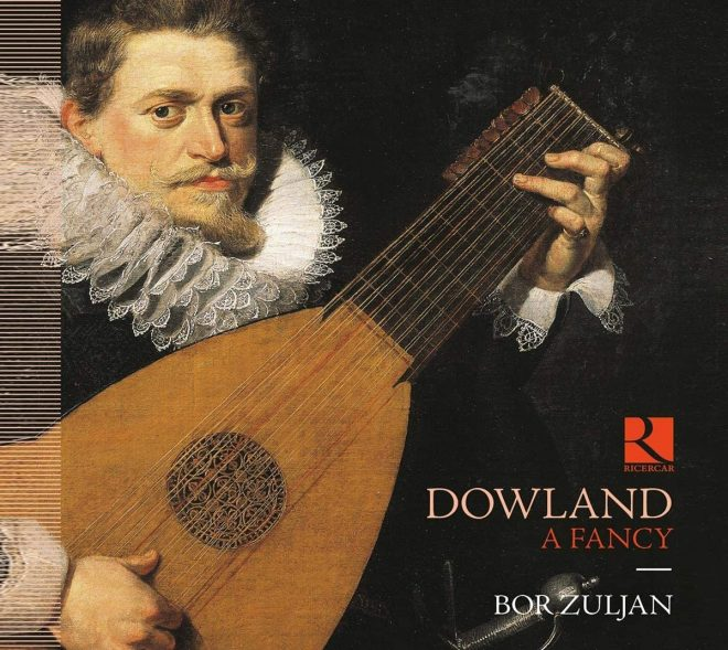 CD cover of Bor Zuljan Dowland lute recital