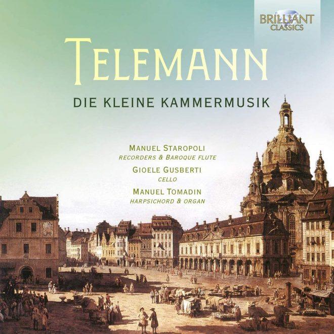 CD cover of Telemann's Kleine Kammermusik